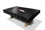 Denver Billiard Table Cover w/ Broncos Logo - Naugahyde