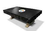 Pittsburgh Billiard Table Cover w/ Steelers Logo - Naugahyde