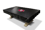 San Francisco Billiard Table Cover w/ 49ers Logo - Naugahyde