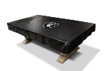 Oakland Billiard Table Cover w/ Raiders Logo - Naugahyde