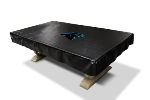 Carolina Billiard Table Cover w/ Panthers Logo - Naugahyde