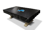 Detroit Billiard Table Cover w/ Lions Logo - Naugahyde Material