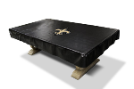 New Orleans Billiard Table Cover w/ Saints Logo - Naugahyde