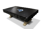 Los Angeles Billiard Table Cover w/ Rams Logo - Naugahyde