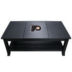 Philadelphia Coffee Table with Flyers Logo - Reversible Insert