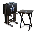 Dallas Cowboys TV Snack Trays With Stand