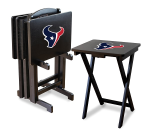 Houston Texans TV Snack Trays With Stand