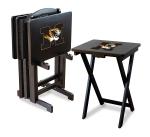 Missouri Tigers NCAA TV Snack Trays With Stand