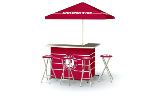 Alabama Crimson Tide Deluxe Portable Bar