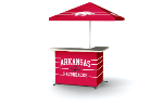 Arkansas Razorbacks Standard Portable Bar