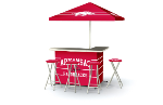 Arkansas Razorbacks Deluxe Portable Bar