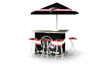 Atlanta Falcons Deluxe Portable Bar