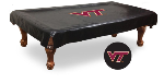 Virginia Tech Hokies Pool Table Cover