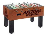 Arizona Foosball Table w/ Wildcats Logo - Chardonnay