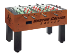 Boston College Foosball Table w/ Eagles Logo - Chardonnay