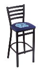 North Carolina Bar Stool w/ Tar Heels Logo - L004
