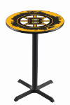 Boston Pub Table w/ Bruins Logo - L211