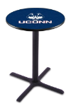 Connecticut Pub Table w/ Huskies Logo - L211