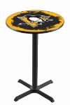 Pittsburgh Pub Table w/ Penguins Logo - L211