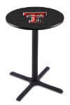 Texas Tech Pub Table w/ Red Raiders Logo - L211