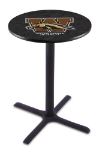 Western Michigan Pub Table w/  Broncos Logo - L211