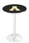 Appalachian State Mountaineers L214 Chrome Pub Table