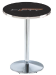 Camaro 50th Anniversary L214 Chrome Pub Table
