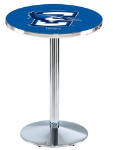 Creighton Bluejays L214 Chrome Pub Table