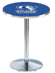 Eastern Illinois Panthers L214 Chrome Pub Table