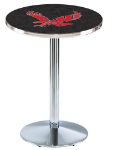 Eastern Washington Eagles L214 Chrome Pub Table