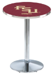 L214 Chrome Pub Tables