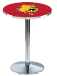 Ferris State Bulldogs L214 Chrome Pub Table