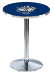 Georgetown Hoyas L214 Chrome Pub Table