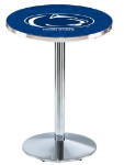 Penn State Nittany Lions L214 Chrome Pub Table