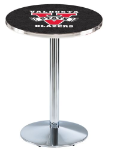 Valdosta State Blazers L214 Chrome Pub Table