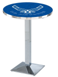 US Air Force L217 Chrome Pub Table