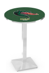 Alabama Birmingham Blazers L217 Chrome Pub Table