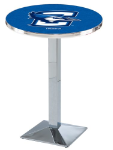 Creighton Bluejays L217 Chrome Pub Table