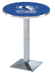 Eastern Illinois Panthers L217 Chrome Pub Table