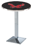 Eastern Washington Eagles L217 Chrome Pub Table