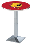 Ferris State Bulldogs L217 Chrome Pub Table