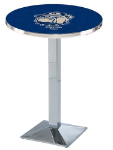 Georgetown Hoyas L217 Chrome Pub Table