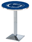 Penn State Nittany Lions L217 Chrome Pub Table
