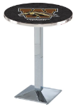 Western Michigan Broncos L217 Chrome Pub Table