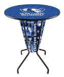 Eastern Illinois Lighted Pub Table w/ Panthers Logo - D1