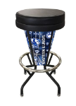 "Eastern Illinois Bar Stool w/ Panthers Logo Swivel Seat - 30"" Lighted"