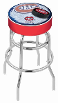 Montreal Bar Stool w/ Canadiens Logo Swivel Seat - L7C1-D2
