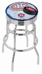 Montreal Bar Stool w/ Canadiens Logo Swivel Seat - L7C3C-D2