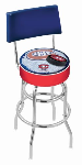 Montreal Bar Stool w/ Canadiens Logo Swivel Seat - L7C4-D2