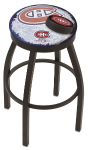 "Montreal Bar Stool w/ Canadiens Logo Swivel Seat - 18"" L8B2B-D2"